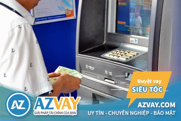 Khách hàng rút tiền qua thẻ tín dụng BIDV sẽ phải chịu phí từ 1-3%