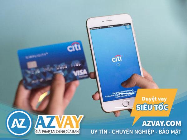 Phí rút tiền thẻ tín dụng Citibank từ 2-4%/lần rút