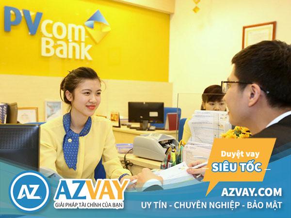 Rút tiền thẻ tín dụng PVcombank tại quầy giao dịch