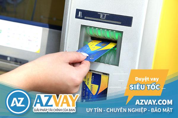 Rút tiền thẻ tín dụng PVcombank tại cây ATM