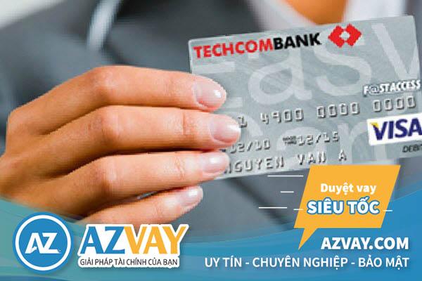 Hoàn toàn có thể rút tiền mặt từ thẻ tín dụng Techcombank
