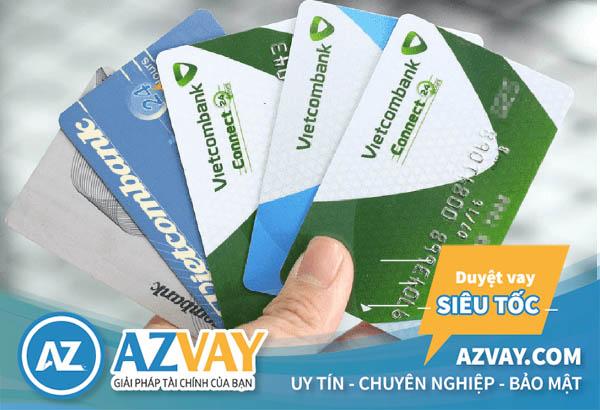 Khách hàng hoàn toàn có thể rút tiền mặt từ thẻ tín dụng Vietcombank