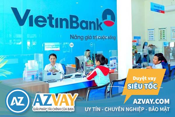 Rút tiền thẻ tín dụng Vietinbank tại quầy giao dịch