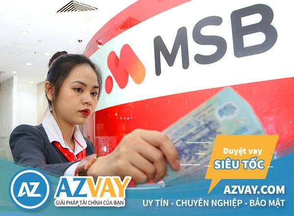 Vay tiền qua thẻ tín dụng MSB
