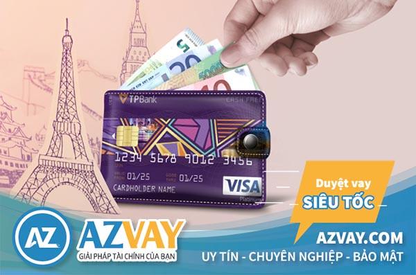 Hạn mức vay qua thẻ tín dụng TPBank tối thiểu lên đến 24 triệu VNĐ