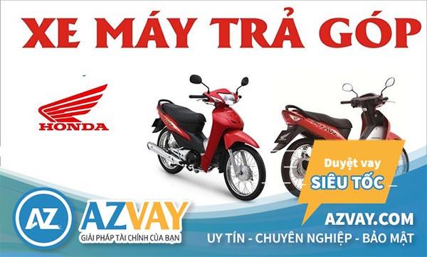 Vay mua xe máy Honda trả góp với nhiều lợi ích hấp dẫn