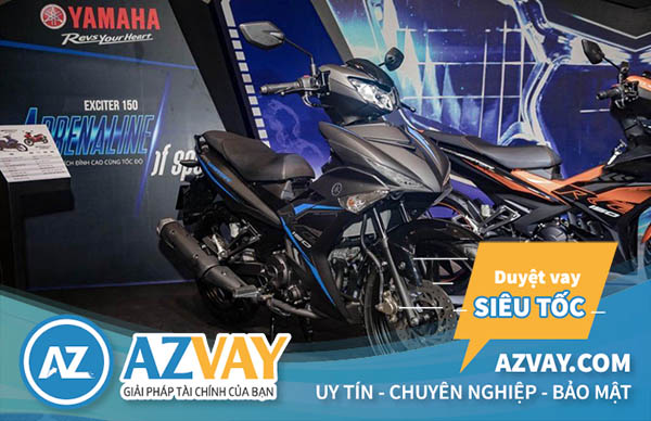 Thật đơn giản để mua xe máy Yamaha trả góp