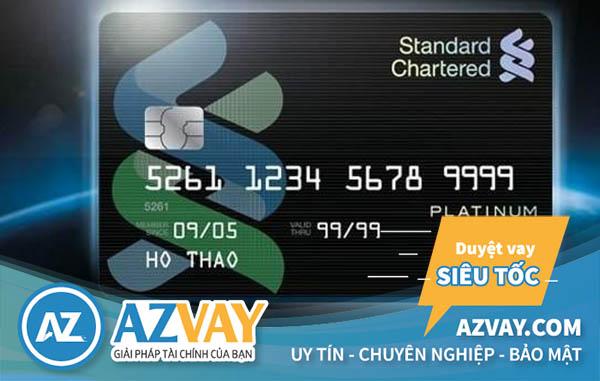 Khách hàng hoàn toàn có thể rút tiền từ thẻ tín dụng Standard Chartered