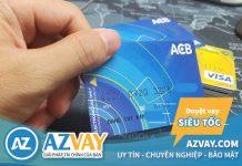 Thẻ tín dụng ACB có rút tiền mặt được không? Mức phí bao nhiêu?