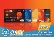 Thẻ tín dụng MSB có rút tiền mặt được không? Mức phí bao nhiêu?