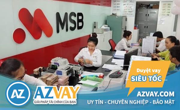 Rút tiền thẻ tín dụng MSB tại quầy giao dịch ngân hàng