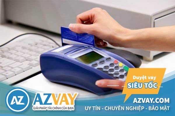 Rút tiền thẻ tín dụng tại máy Post