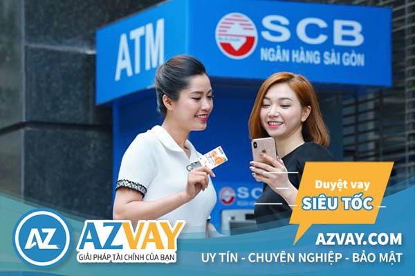 Khách hàng có thể rút tiền từ thẻ tín dụng SCB