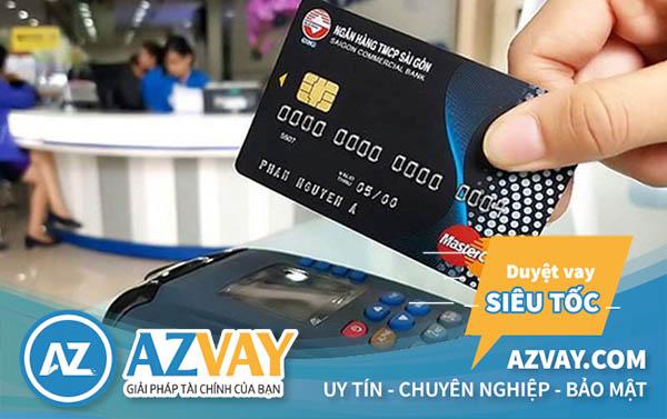 Rút tiền thẻ tín dụng ngân hàng SCB với lãi suất ưu đãi
