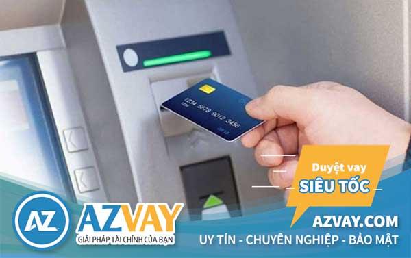 Lưu ý khi rút tiền thẻ tín dụng ngân hàng tại ATM