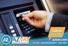 Hướng dẫn cách rút tiền thẻ tín dụng tại máy ATM