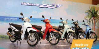 Hướng dẫn thủ tục mua xe máy Wave Alpha trả góp năm 2020