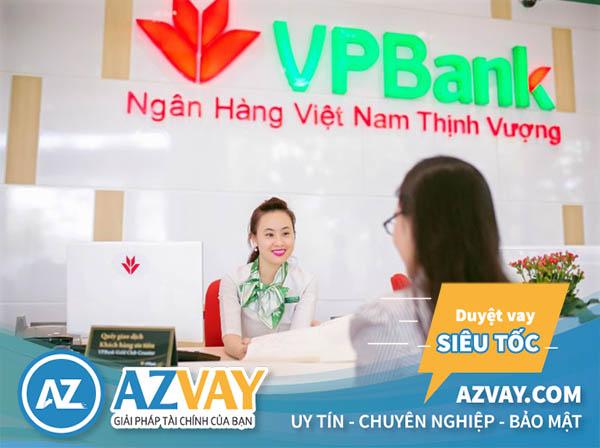 Vay tiền không cần chứng minh thu nhập tại ngân hàng VPBank
