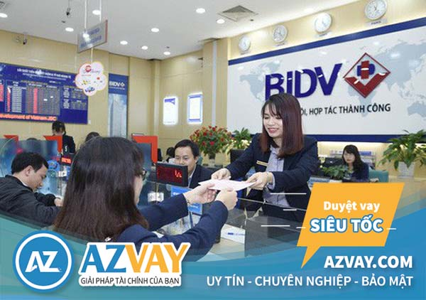 Vay tiền bằng giấy phép kinh doanh tại BIDV