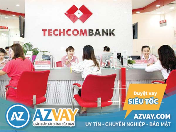 Vay tiền theo bảng lương ngân hàng Techcombank