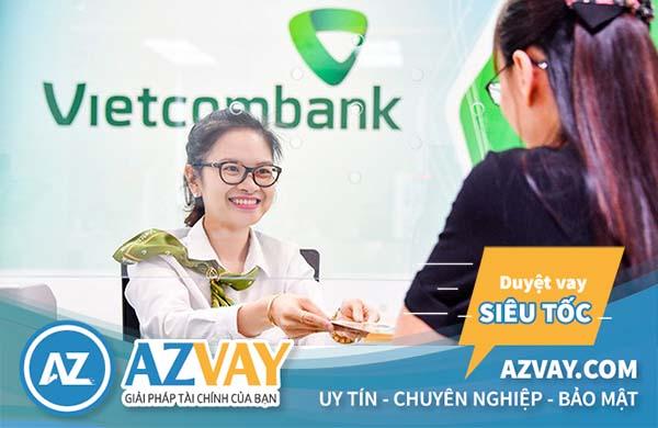 Vay tiền theo bảng lương ngân hàng Vietcombank
