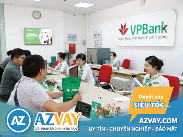 Vay tiền trả góp hàng tháng tại ngân hàng VPBank