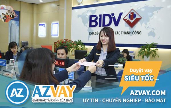 Vay tín chấp nhanh ngân hàng BIDV tại Hà Nội