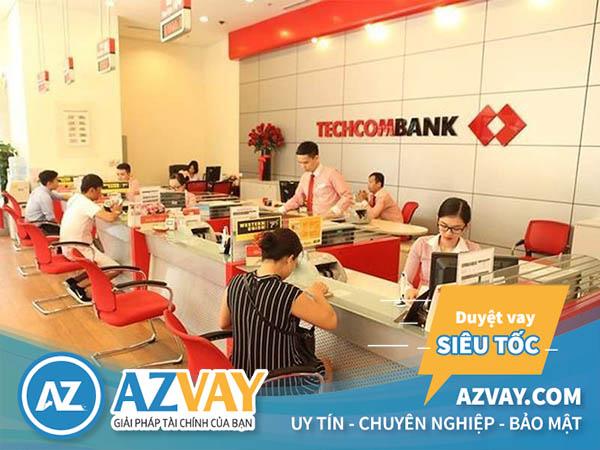 Vay tín chấp nhanh ngân hàng Techcombank tại Hải Phòng
