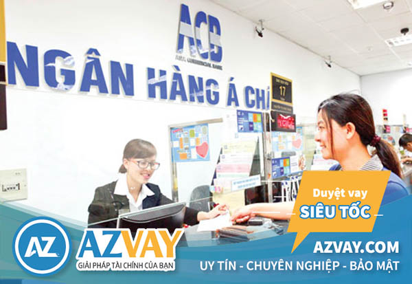 Vay tín chấp nhanh tại ngân hàng ACB Nam Định