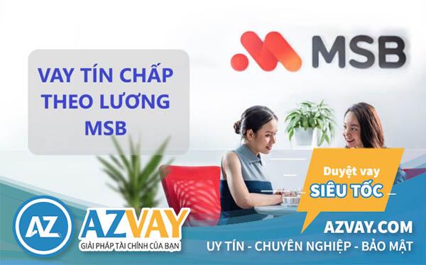 Vay tín chấp nhanh ngân hàng MSB tại Nam Định