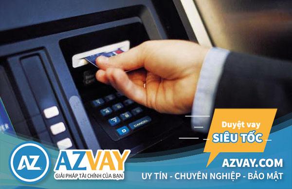 Mức lãi suất rút tiền thẻ tín dụng khá ưu đãi