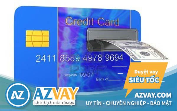 Mức phí rút tiền thẻ tín dụng tại một số ngân hàng