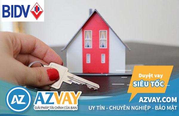 Vay mua nhà tại ngân hàng BIDV