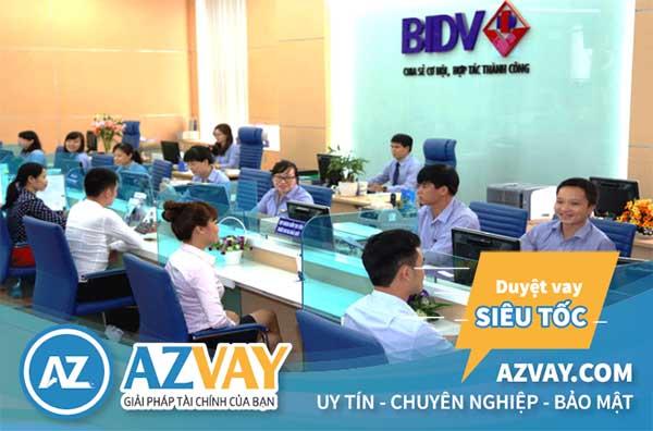 Vay tín chấp theo lương chuyển khoản ngân hàng BIDV